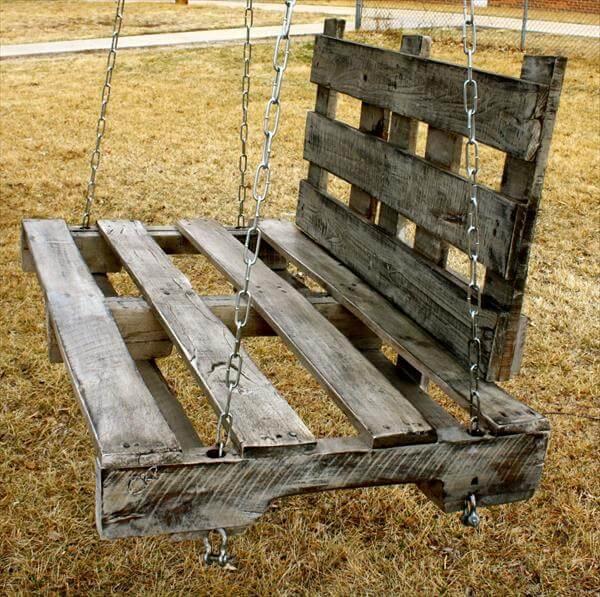 DIY wood swing