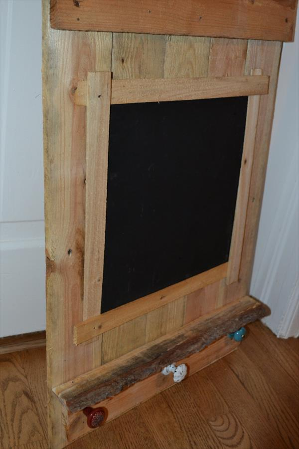 reclaimed chalk board