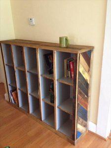 DIY: Making Bookshelf Out of Pallets