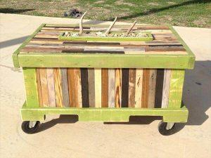 diy rustic pallet table
