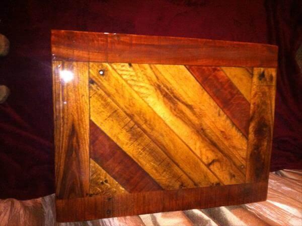 repurposed pallet entry