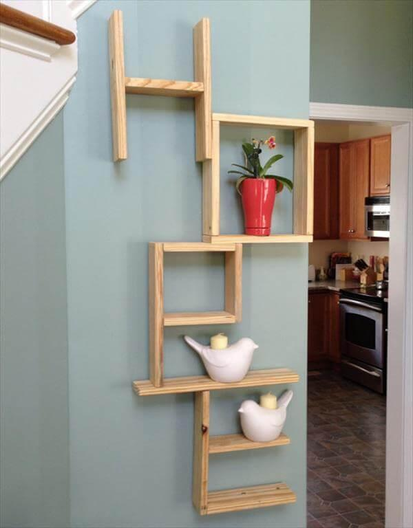 reclaimed pallet hope shelves