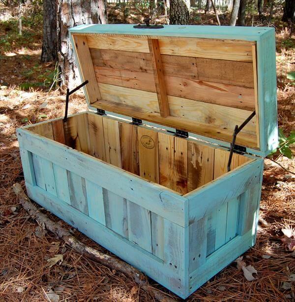 resurrected pallet chest