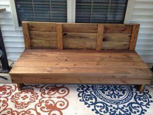 DIY Rustic Patio Couch
