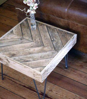 Side Table from Pallets