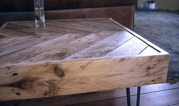 DIY Side Table from Pallets