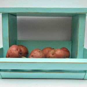 recycled pallet kitchen organizer