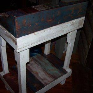 diy pallet miniature pallet desk