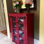 recycled pallet shabby chic cabinet