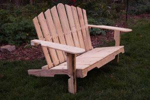 Recycled Adirondack Pallet Bench