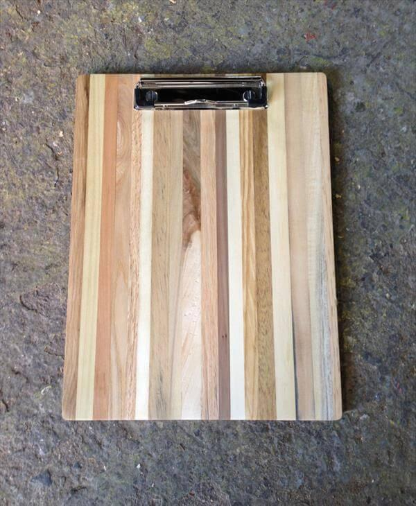 Pallet Wood Clipboard