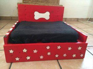 Pallet Handmade Recycled Dog Bed