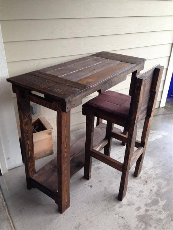 diy outdoor sitting stool