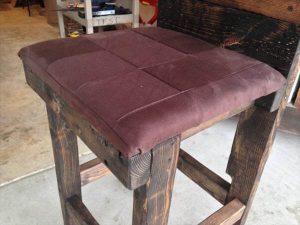 DIY Pallet Wood Stool