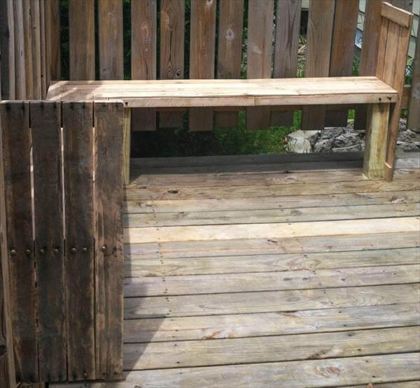 DIY Pallet wood furniture