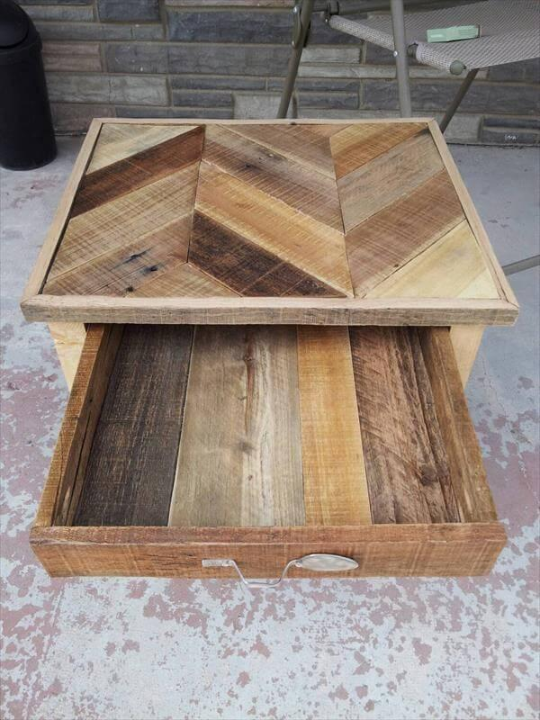 diy pallet nightstandbuilt to inspire – 101 pallets How to Make a Nightstand out of Wood