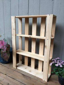 Wood Pallet Wall Hanging Shelves