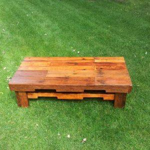 recycled maple pallet coffee table