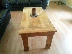 DIY Wood Table Made from Pallets