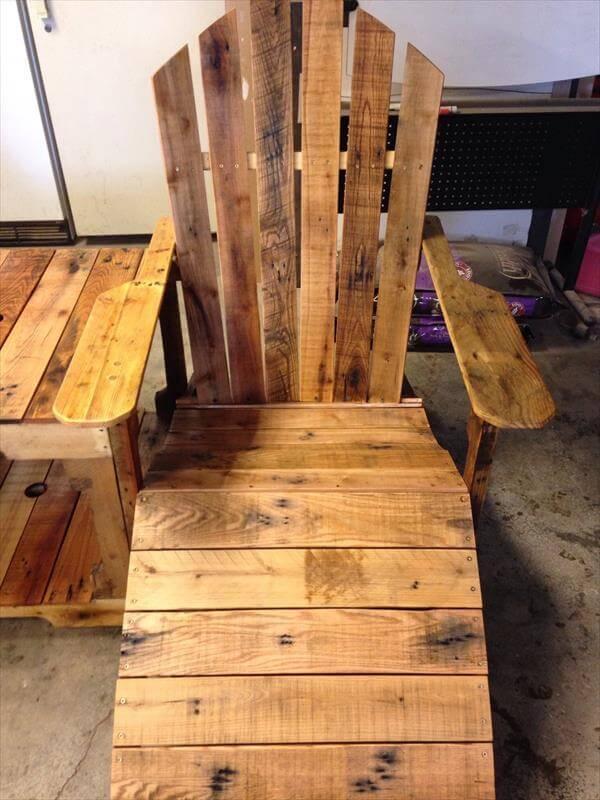 handmade pallet adirondack chairs