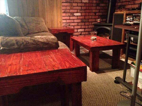 upcycled pallet living room furniture