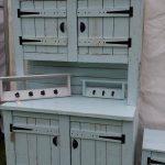 repurposed pallet kitchen dresser