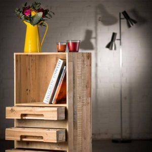 diy wooden pallet cupboard