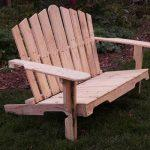 recycled pallet adirondack bench
