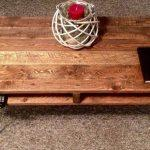 recycled pallet coffee table and media stand