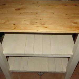 repurposed pallet kitchen island table