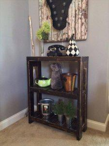 Pallet Wood Bookcase or Storage Unit