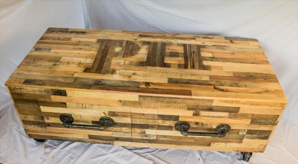custom build pallet coffee table – 101 pallets Custom Built Coffee Tables
