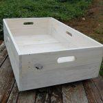 reclaimed pallet under bed storage crate