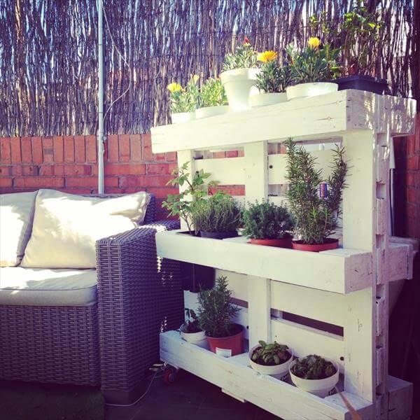 Diy Pallet Planter And Pot Holders 101 Pallets
