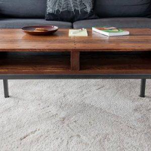 handmade wood pallet coffee table