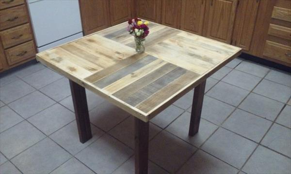 Diy Pallet Coffee Table 2 Person Dining 101 Pallets