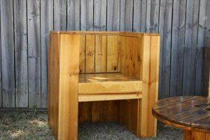 recycled pallet outdoor beefy chair