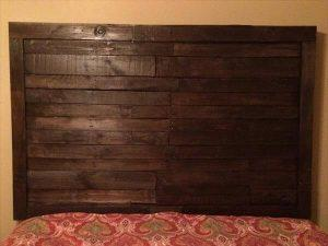 Reclaimed Pallet King Size Headboard