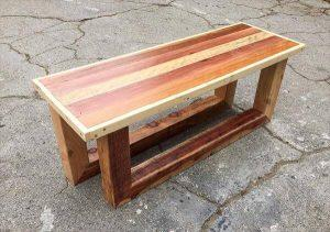 Pallet vintage Entryway Table or Bench