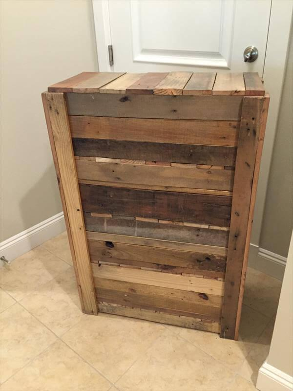 Diy Entryway Shoe Rack 100 Reclaimed Pallets 101 Pallets