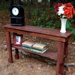 diy wooden pallet sofa and hallway table
