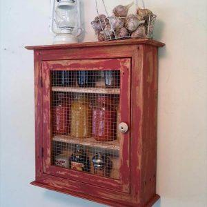 diy pallet wall cabinet