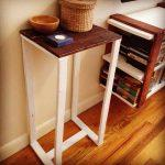 side table made of pallets