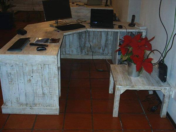 pallet working desk