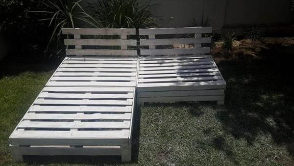 no-cost pallet outdoor furniture set