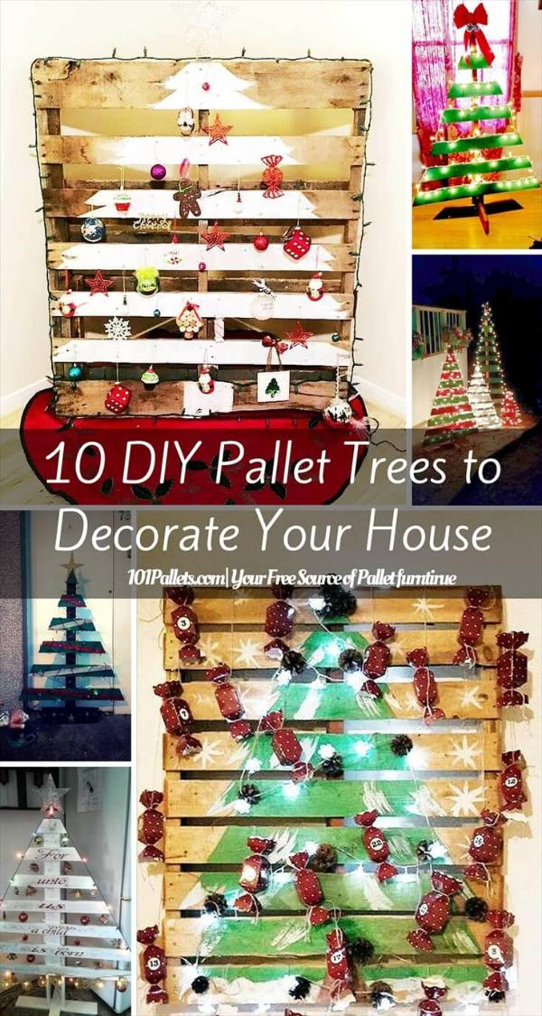DIY Pallet Tree Ideas