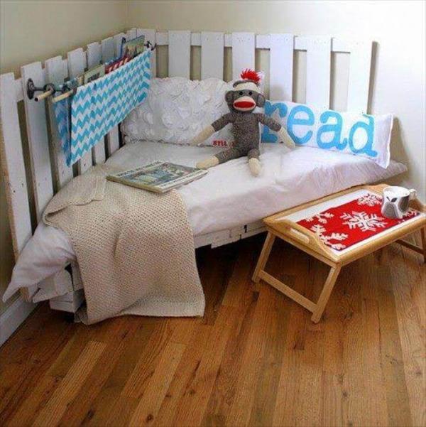 pallet corner bed
