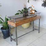pallet display table