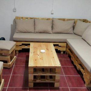 no-cost pallet sectional sofa set