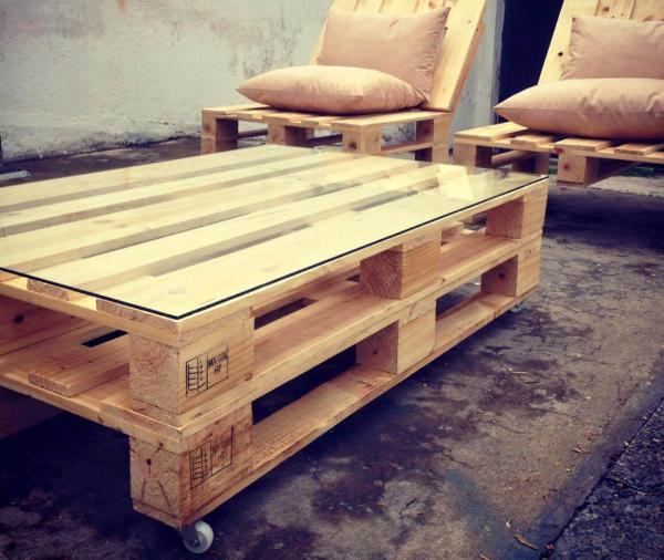 upcycled pallet wood sofa set